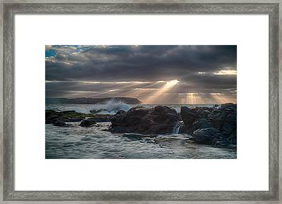 Shine On Framed Print by Shari Mattox