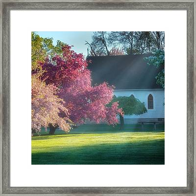 Shine The Light On Me Square Framed Print by Bill Wakeley