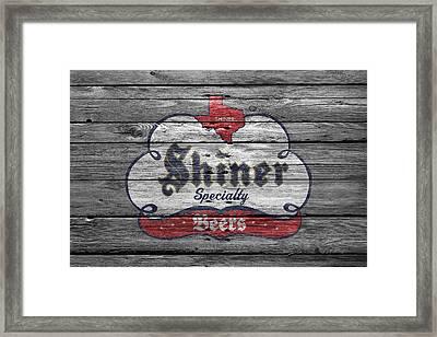 Shiner Specialty Framed Print by Joe Hamilton