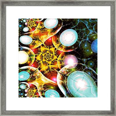 Shining Colors Framed Print by Anastasiya Malakhova