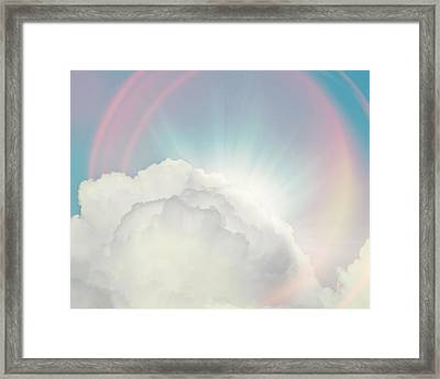 Shining Through Framed Print by Amy Tyler