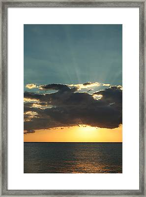 Shining With Love Framed Print by Laurie Search