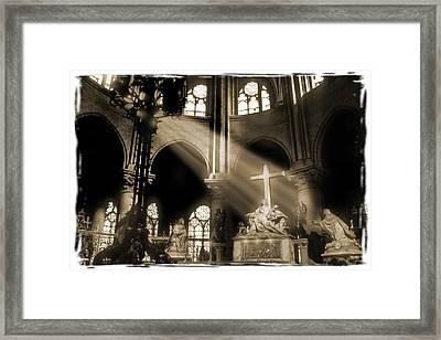 Shinning Through Framed Print by Mike McGlothlen