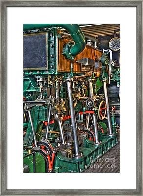 Ship Engine Framed Print by Heiko Koehrer-Wagner