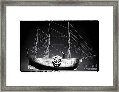 Ship Framed Print by John Rizzuto
