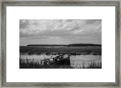Shipwrecked  Framed Print by Steven  Taylor