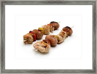 Shish Kebab Framed Print by Fabrizio Troiani