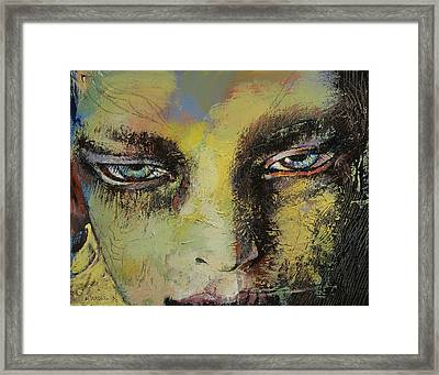 Shiva Framed Print by Michael Creese