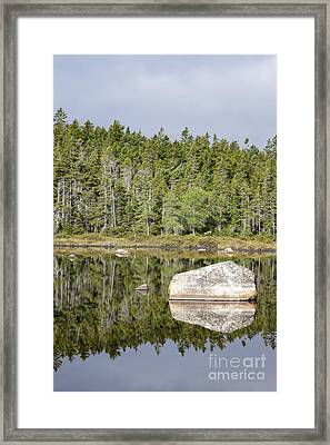 Shoal Pond - White Mountains New Hampshire Framed Print by Erin Paul Donovan