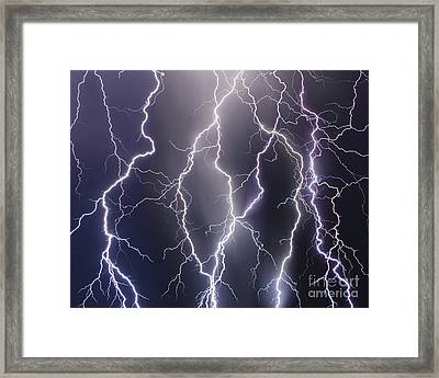 Shocking Texture Framed Print by Ryan Smith