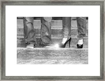 Shoes Framed Print by Stephanie Leidolph