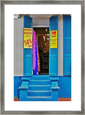 Shop New Orleans Framed Print by Christine Till