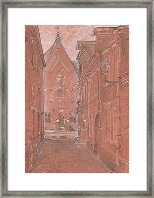 Short Street Framed Print by Serge Yudin