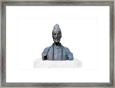 Shota Rustaveli Framed Print by Fabrizio Troiani