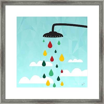 Shower  Framed Print by Mark Ashkenazi