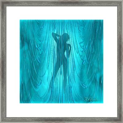 Showertime Framed Print by Giada Rossi