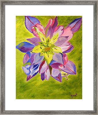 Showing Through Framed Print by Meryl Goudey