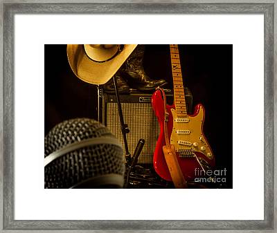 Show's Over Framed Print by Robert Frederick