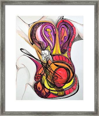Showstopper Framed Print by Vivianne Maloney