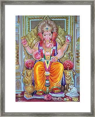 Shree Ganesh  Framed Print by Mayur Sharma