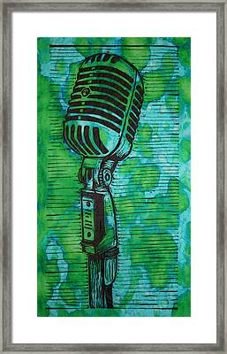 Shure 55s Framed Print by William Cauthern