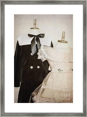 Siblings Framed Print by Margie Hurwich
