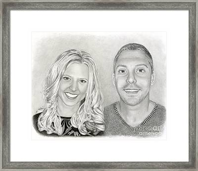 Siblings Framed Print by Sarah Batalka