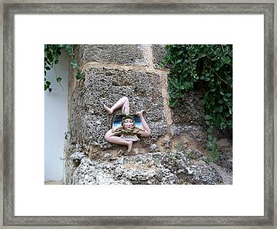 Sicilia Framed Print by Katie Beougher