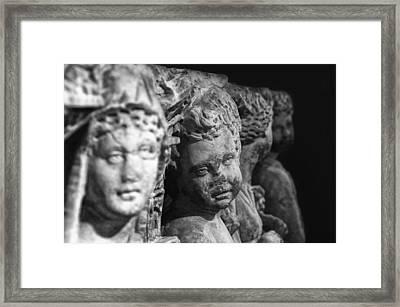 Sidamara Sarcophagus Framed Print by Taylan Soyturk