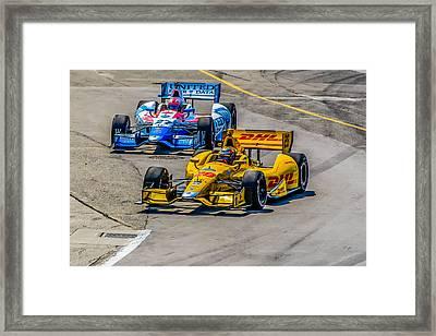 Side By Side Framed Print by Andy Glavac