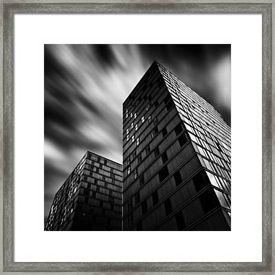 Side By Side Framed Print by Dave Bowman