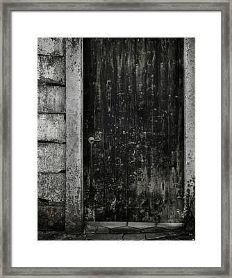 Side Street Framed Print by Odd Jeppesen