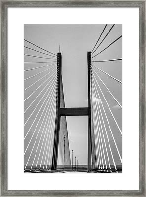 Sidney Lanier Bridge Framed Print by Ginger Wakem