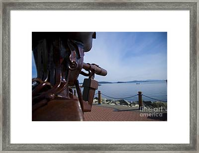Sidney Pirate Framed Print by Graham Foulkes