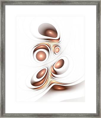 Sienna Creation Framed Print by Anastasiya Malakhova