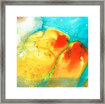 Siesta Sunrise Framed Print by Sharon Cummings