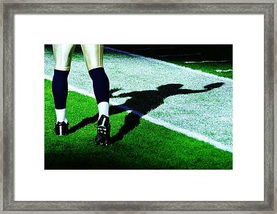 Signal Caller Framed Print by Benjamin Yeager