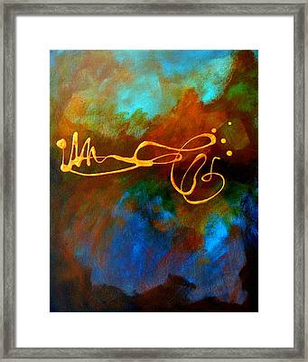 Signature Framed Print by Nancy Merkle