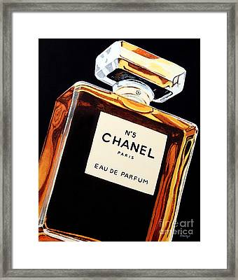 Signature Scent Framed Print by Alacoque Doyle