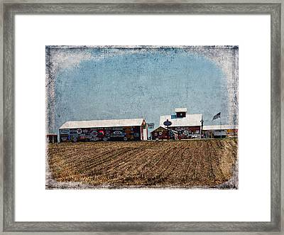Signs Framed Print by Cassie Peters