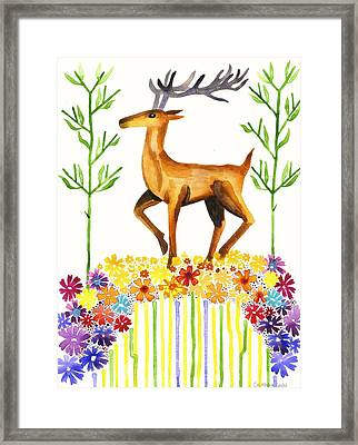 Signs Of Spring Framed Print by Cat Athena Louise