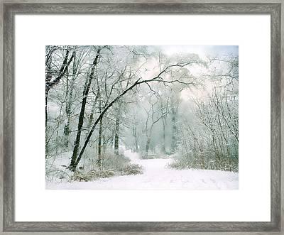 Silence Of Winter Framed Print by Jessica Jenney