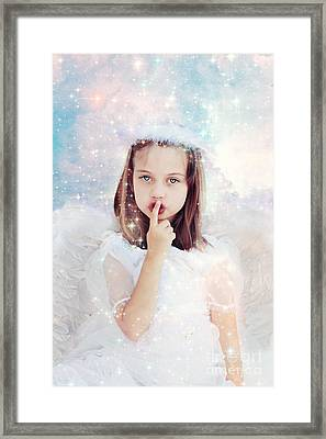 Silent Angel Framed Print by Stephanie Frey