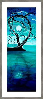 Silent Beauty Framed Print by Angie Phillips