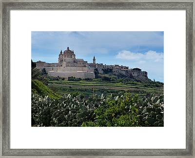 Silent City Framed Print by David and Mandy