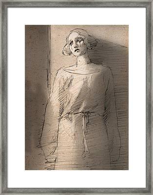 Silent Movie Framed Print by H James Hoff