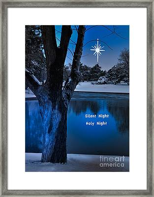 Silent Night Framed Print by Betty LaRue