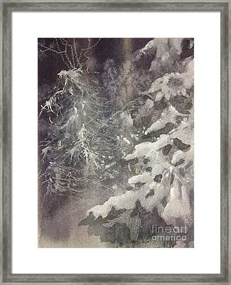 Silent Night Framed Print by Elizabeth Carr