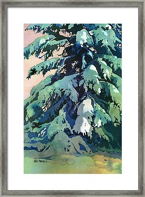 Silent Season Framed Print by Kris Parins