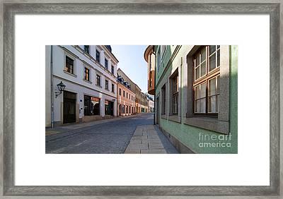 Silent Street Framed Print by Ari Salmela